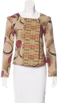 Vineet Bahl Quilted Abstract Print Jacket