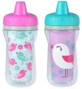 The First Years Insulated Spill-Proof Sippy Cup with One Piece Lid, 2 Count (Styles may vary) (Discontinued by Manufacturer) by