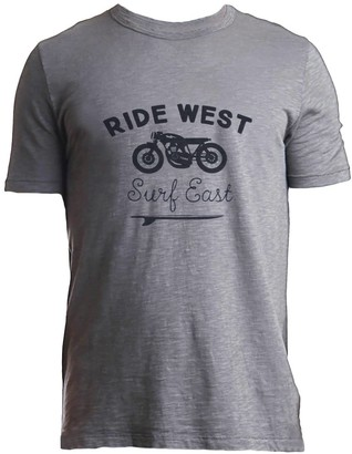Tonn Ride West Tee Grey