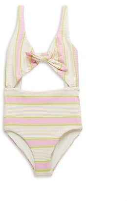 L*Space By Monica Wise Kylie Striped One-Piece Swimsuit