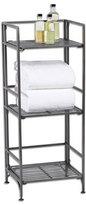Container Store 3-Shelf Iron Folding Bookcase