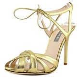 Sarah Jessica Parker Keating Open Toe Leather Sandals.