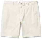 Theory - Zaine Slim-fit Stretch-cotton Shorts