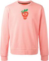 Paul Smith strawberry skull print sweatshirt - men - Cotton - L