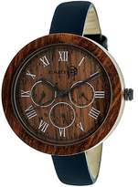 Earth Wood Brush Watch Analog Quartz Watch, 40mm
