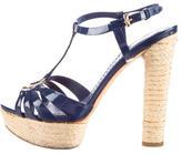 Christian Dior Espadrille Platform Sandals