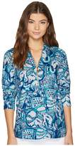 Lilly Pulitzer UPF 50+ Hooded Skipper Women's Sweater