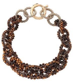 Rosantica Carrarmato Gold-tone And Quartz Necklace