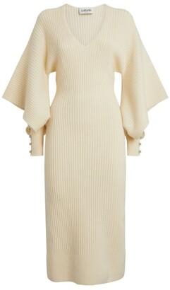 Lanvin Knitted Midi Dress