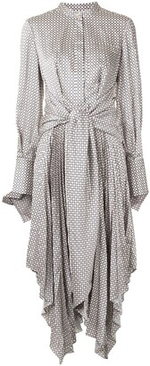 Acler Chase patterned dress