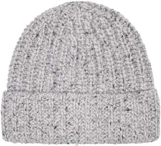 Johnstons of Elgin Knit Cashmere Beanie Hat