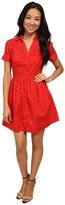 U.S. Polo Assn. Printed Poplin Dress