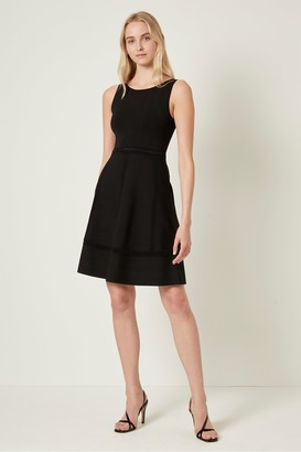 French Connection Tia Tobey Fit N Flare Dress