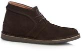 Hush Puppies Dark Brown 'curtis' Chukka Boots