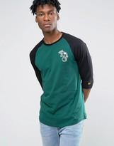New Era Oakland Athletics 3/4 Sleeve Raglan T-shirt