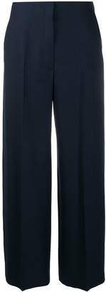 The Row colour block wide leg trousers