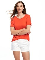Old Navy Boat-Neck Swing Tee for Women