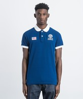 Franklin & Marshall Contrast Collar Polo Shirt