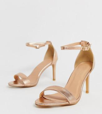 gold platform heels wide fit