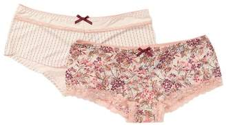 SECRET LACE Assorted Panties - Pack of 2