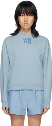 Alexander Wang Blue Foundation Terry Sweatshirt