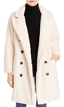 Blank NYC Double Breasted Teddy Coat