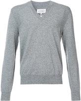 Maison Margiela - classic knitted sweater - men - Wool - XL