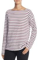 Rag & Bone Dakota Striped Long Sleeve Tee