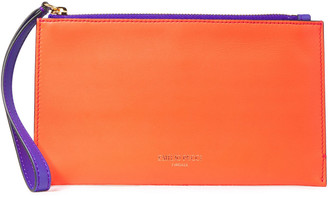 Emilio Pucci Smooth And Mirrored-leather Pouch