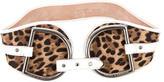 Dolce & Gabbana Leopard Print Waist Belt