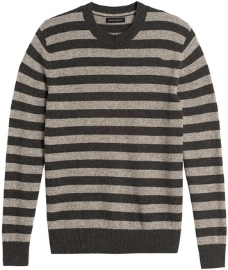 Banana Republic Merino-Yak Blend Stripe Sweater