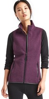 Gap Double-knit zip vest