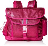 Bixbee Girl's Sparkalicious Glitter Kids Backpack, Ruby