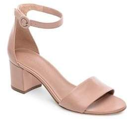 Bernardo Belinda Leather Ankle Strap Sandals