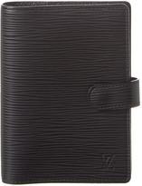 Louis Vuitton Black Epi Leather Agenda Pm
