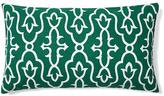 Vibrant 14x24 Cotton Pillow, Green