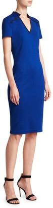 St. John Milano Wool-Blend Sheath Dress