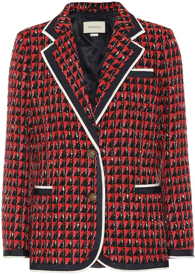 e9017b61f Gucci Tweed Jacket - ShopStyle
