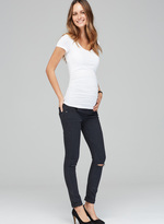 Isabella Oliver Zadie Ripped Stretch Maternity Skinny Jeans