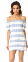 BB Dakota Kash Off The Shoulder Striped Dress