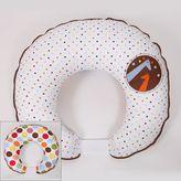Bacati Baby & Me Hugster Reversible Nursing Pillow