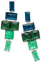 Ippolita 925 Rock Candy Stacked Linear Post Drop Earrings in Taffeta