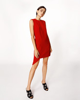 Nicole Miller Asymmetrical Sheath Dress