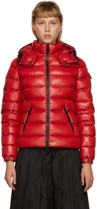 Moncler Red Down Bady Coat