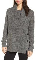 Lucky Brand Women's Alyssa Side Button Sweater