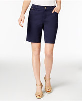 Charter Club Twill Shorts, Only at Macy's