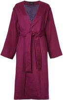 G.V.G.V. lace-up belted coat