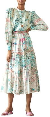 HEMANT AND NANDITA Cosmic Maxi Skirt