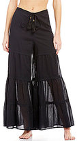 Gianni Bini Solid Wide Leg Pant Cover Up