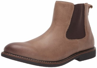 Lucky Brand Men's Milford Chelsea Boot Black Leather 13 M US